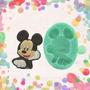 Molde Silicona Mickey.! No Es Caucho !!