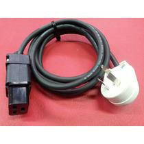 Cable Power Alimentacion Iec 320 C19 Con Ficha Iram 10a Tres