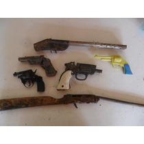 6 Antigua Escopeta Revolver Decoracion En Pistola Lote Venta Juguete lFJ1cK