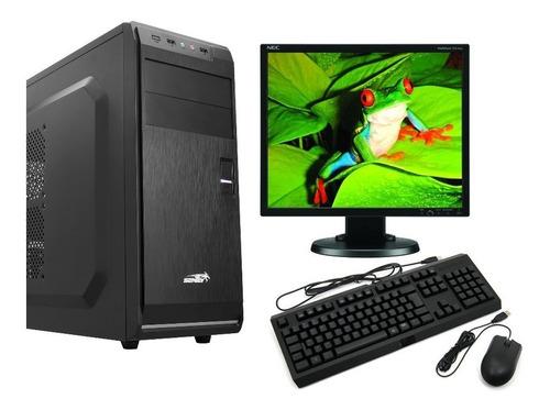 Computadora Completa Dual Core 4gb Ddr3 - Monitor - Wifi