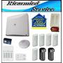 Kit De Proteccion X-28 Alarmas 8 Zonas Ideal Para Casas