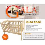 Cuna Bebé 120x60 ( Fábrica Online) - Precio De Locos