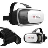 Anteojo De Realidad Virtual 3d Vr Box 360 Casco Lente Smartphone Para Celular Entretenimiento Portatil