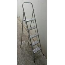 Escalera Metálica Plegable 5 Escalones Peldaños - V. Urquiza