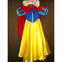 Disfraz Blancanieves, Niña, 3 A 6 Años