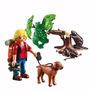 Playmobil Explorador Con Perro Y Castores 5562
