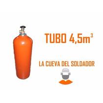 Tubo 4,5 M3 Con Válvula Argón Atal Nuevo Prueba Hid La Cueva