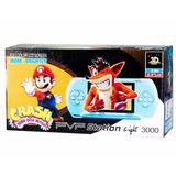 Consola De Juegos Portatil Pvp Light 3000 8bits Av