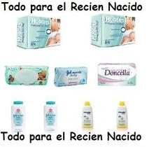 Combo Recien Nacido Huggies + 6 Hiperpack Babysec Ultra