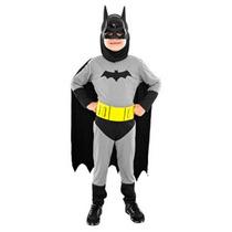 Disfraz De Batman - Sulamericana Con Licencia Oficial