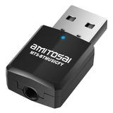 Adaptador Usb A Bluetooth Receptor 3,5plug Aux Auto Parlante Stereo Home Theater Cinema Rca Musicfy