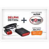 Scanner Delphi Softs Regalo: V2016.1 + Wow A 5008 C Cis V1.9