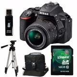 Nikon D5500 Kit 18-55mm Vr2+ Trípode+ Sd 16gb+ Bolso+ Envio+