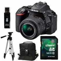 Nikon D5500 Kit 18-55mm Vr+ Trípode+ Sd 16gb+ Bolso+ Envio+