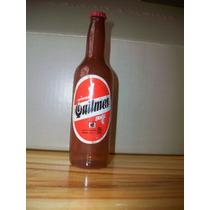 Antigua Botella De Cerveza Quilmes Juguete En Miniatura