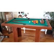 Mesa De Mini-pool 1,44x0,84mts De Fabrica