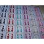 Lote De 108 Aros Perlitas En Colores A $ 120 Todo El Blister