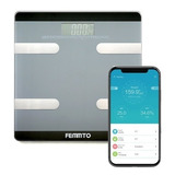 Balanza Digital Personal Baño Bluetooth Femmto 180kg Nueva
