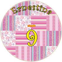 Kit Imprimible Patchwork Candy Bar Golosinas