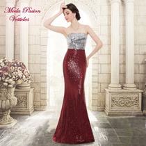 Vestido Talle Grande Madrina Bodas Importado Moda Pasión