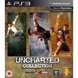 Uncharted Trilogy Collection Ps3 Digital |3 Juegos  Español