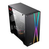 Gabinete Pc Gamer Sentey X10 Rgb Acrilic Usb 3.0 Mexx 3