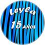 Kit Imprimible Acebrado 15 Años Candy Bar Golosinas El Mejor