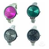 Relojes Por Mayor Malla Metal X 5 Unidades $110