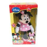 Minnie Muñeca Grande Peluche Luz Mickey Disney Orig. Ditoys