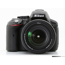 Nikon D5300 + Memo Y Bolso Kit 18-55mm Wi-fi Gps Fullhd