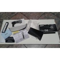 Microfono Shure Sm58//100%original(mex)//nuevo