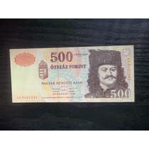 Billete Hungria 500 Forint 1998 Mb Oportunidad !