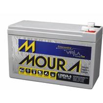Bateria Moura 12v 9ah Gel Agm Alarma Ups Emergencia Apc 9a