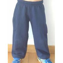 Pantalón Algodón Frisado Colegial Niño