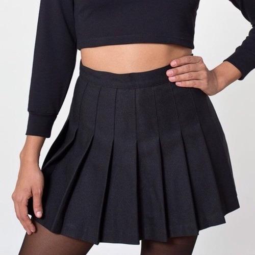 Polleras Tennis Skirt Tableadas Kawaii Xs Al Xxl 7007332888e