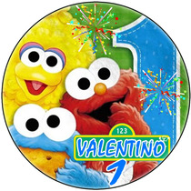 Kit Imprimible Elmo Baby Candy Bar Golosinas