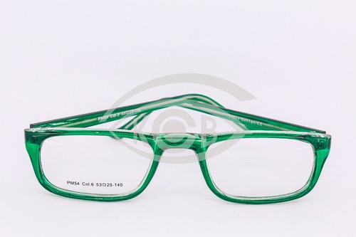 5c9ddf2835 Lentes Anteojos Armazones Gafas Receta Presbicia Pm54 Verde en venta ...