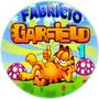 Imágenes Garfield Etiquetas Imprimibles Cotillón Plantillas
