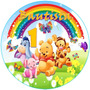 Kit Digital Winnie Pooh Baby Etiquetas Imágenes Imprimibles