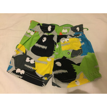 Short De Baño Bebe Caters 3-6 Meses