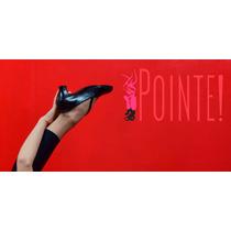 Zapatos De Baile Profesional Pointe (cuero Genuino)