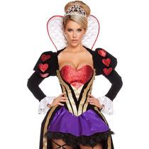 Disfraz Reyna De Corazones Con Cola Disfraces Mujer Adultos