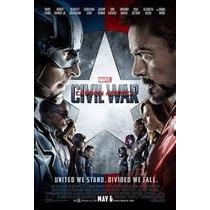 Poster Cine Original Capitan America-civil War