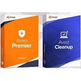 Avast Premier + Cleanup Original Licencia De 15 Años 3 Pcs