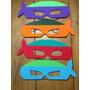 Souvenirs Antifaces Tortugas Ninja Pack 10 Unid