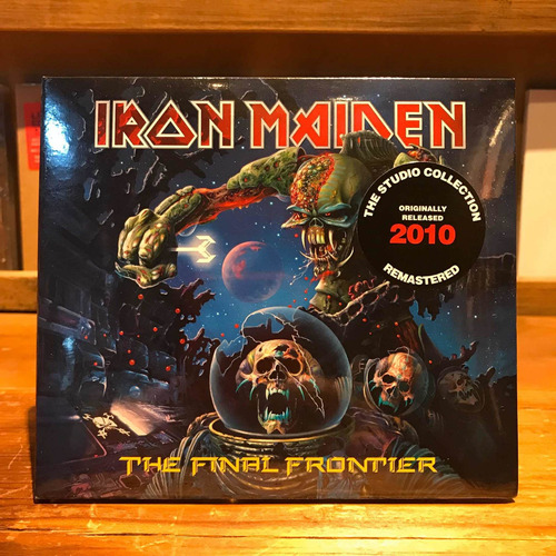 Iron Maiden Final Frontier Edicion Cd