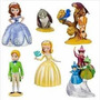 Set De 6 Personajes De La Princesa Sofia Y Su Familia