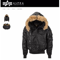 Campera Alpha Industries Parka N2b Aviadora Original