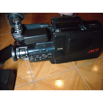 Filmadora National Panasonic M7 Vhs Impecable Usada 8 Veces