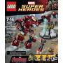 Lego (76031)super Heroes The Hulk Buster Con Iron Man